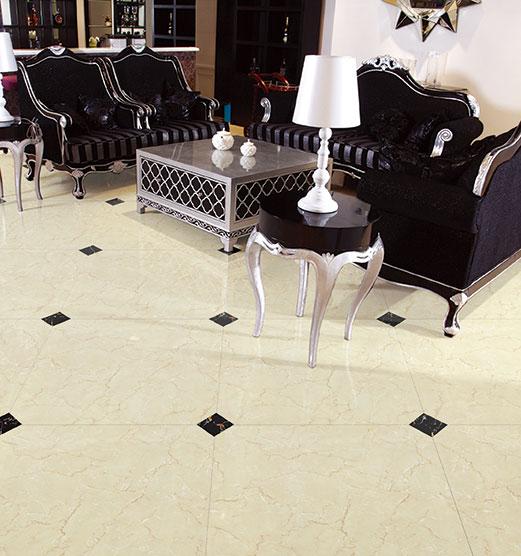 金艾陶大理石瓷砖金线莎安娜KYP8003瓷砖客厅效果图-金艾陶大理石