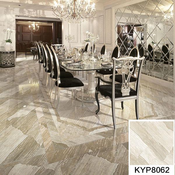 金艾陶全抛釉瓷砖天堡石KYS8062瓷砖高档餐厅效果图-金艾陶全抛釉