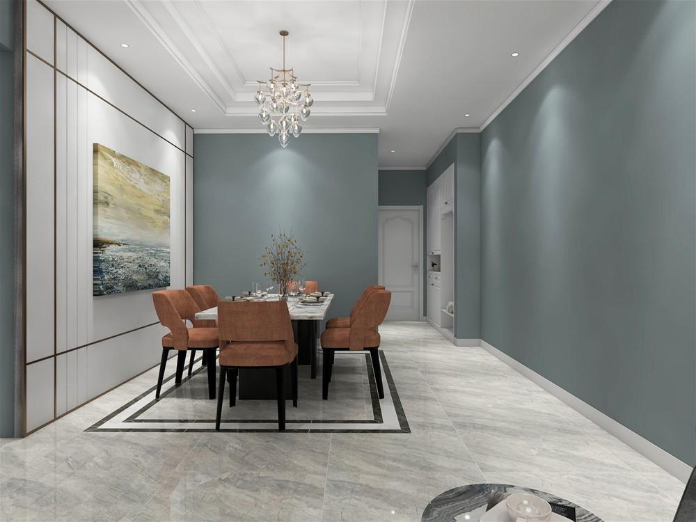 现代客餐厅 地面主砖 通体大理石kta8301
